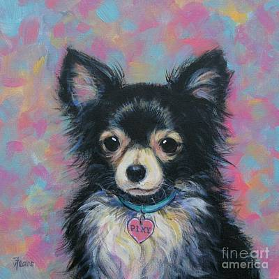 Painting - Chihuahua by Vickie Fears