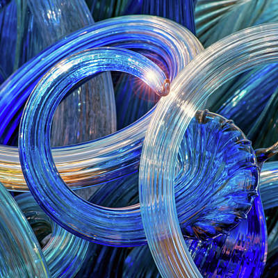 Photograph - Chihuly 406 by Doug Caplan