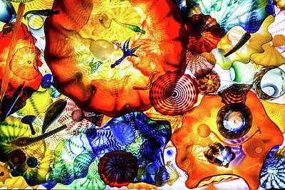 Photograph - Chihuly Art by Stewart Helberg