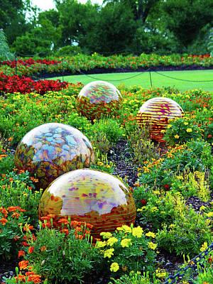 Photograph - Chihuly Balls Dallas Arboretum by Robert J Sadler