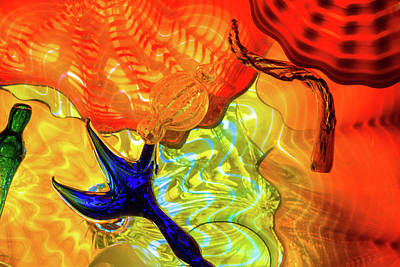 Photograph - Chihuly Colors by Stewart Helberg