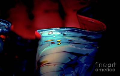 Photograph - Chihuly Glass Bowl by Glennis Siverson