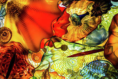 Photograph - Chihuly Glass by Stewart Helberg