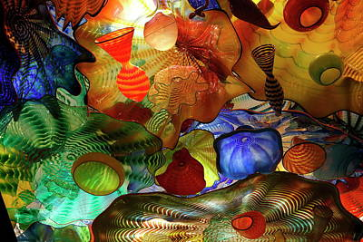 Chihuly Glass Photograph - Chihuly by Guenther Schwermer