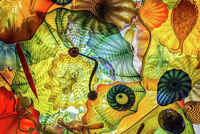 Photograph - Chihuly Lines by Stewart Helberg