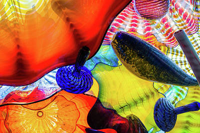 Photograph - Chihuly Up Close by Stewart Helberg