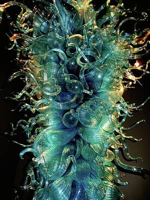 Photograph - Chihuly01 by Gerald Greenwood