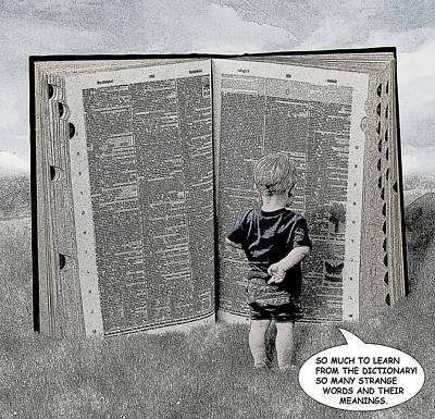 Digital Art - Child Comic Illustration 1 by Solomon Barroa