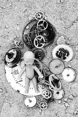 Child In Time Art Print by Michal Boubin
