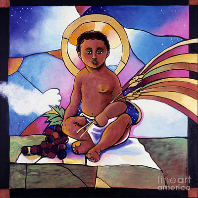 Painting - Child Jesus - Mmchj by Br Mickey McGrath OSFS