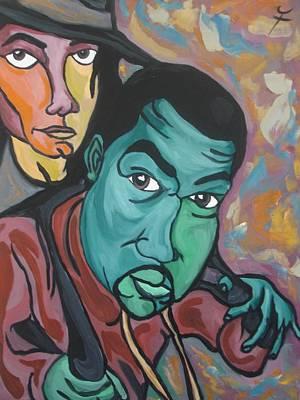 Kanye Painting - Child Like Innocence  by Jason JaFleu Fleurant