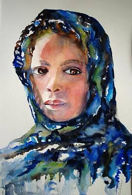 Ethiopian Woman Painting - Child Of Ethiopia by Lynn Callahan
