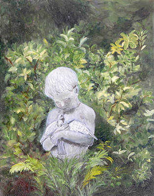 Painting - Child Of Peace II by Shirley Lawing