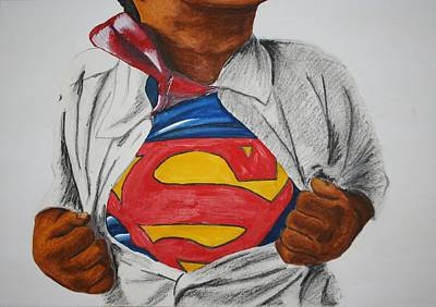 Painting - Child Of Steel by Rufus Royster