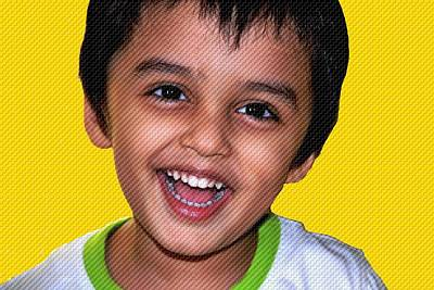 Photograph - Child Portrait-1 by Anand Swaroop Manchiraju