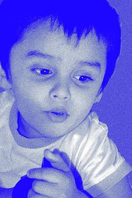 Photograph - Child Portrait--2 by Anand Swaroop Manchiraju