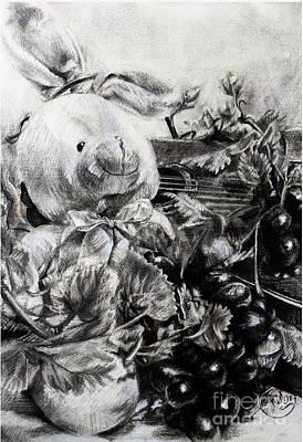 Childandmusic Art Print by Roa Malubay