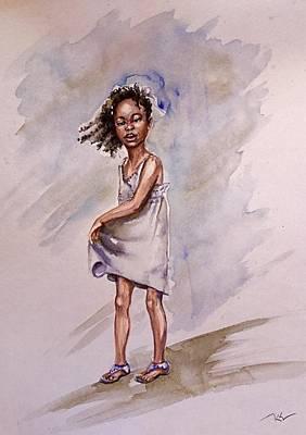 Painting - Childhood 2 by Katerina Kovatcheva