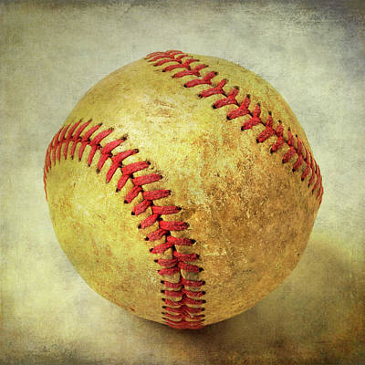 Photograph - Childhood Baseball by Garry Gay