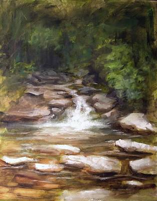 Painting - Cooling Creek by Melissa Herrin