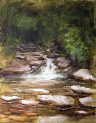 Painting - Cooling Creek by Melissa Herrin