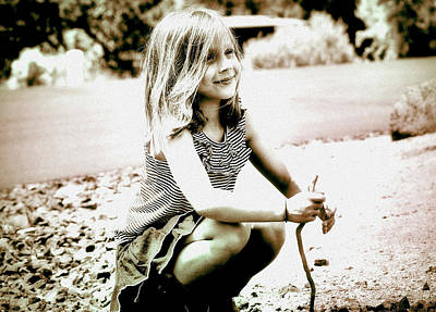 Photograph - Childhood Memories by Barbara Dudley