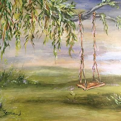 Painting - Childhood Memories by Karen Ferrand Carroll