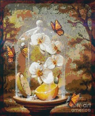 Painting - Childhood Memories Pearlesqued In The Mix by Catherine Lott