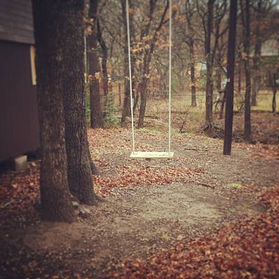 Photograph - Childhood Swing by Christin Brodie