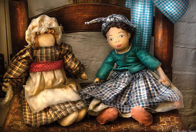 Miksavad Photograph - Children - Toys -  Dolls Americana  by Mike Savad