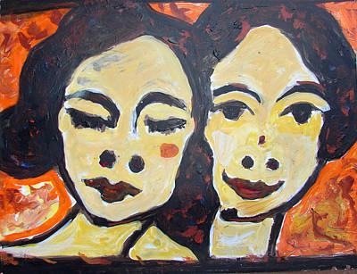 Painting - Children by Anand Swaroop Manchiraju