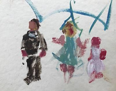 Painting - Children by Carol Berning