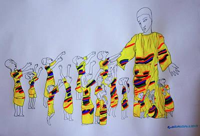 Children Coming To Jesus Art Print