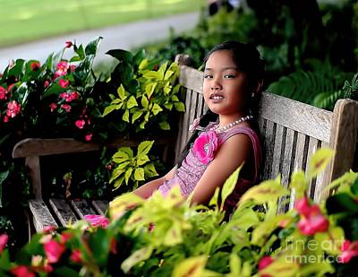 Photograph - Children by Diana Mary Sharpton