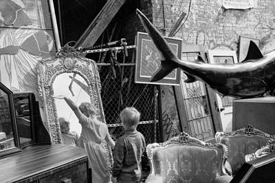Photograph - Children Flea Market by Dave Beckerman