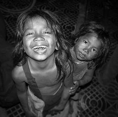 Photograph - Children Of Phnom Penh by Dusty Wynne
