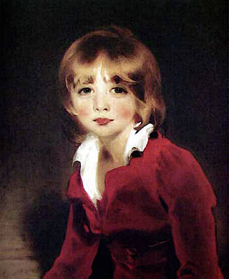 Digital Art - Children Sir John Julian Bgg by Sir Thomas Lawrence