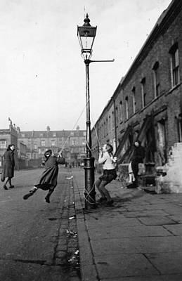 Child Swinging Photograph - Children Swinging by Haywood Magee