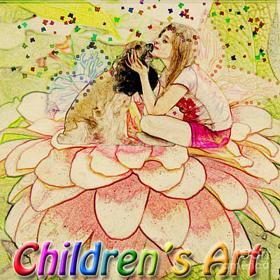 Photograph - Children's Art Logo by Debbie Portwood