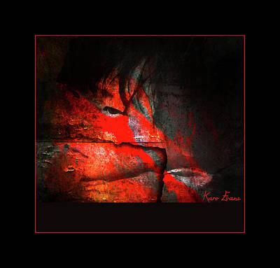 Photograph - Children's Blood by Karo Evans