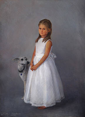 Painting - Children's Full-figure Portrait by Timothy Chambers