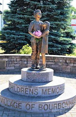 Photograph - Children's Memorial by Brigitte Emme