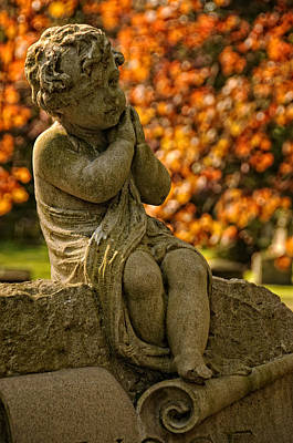 Photograph - Child's Final Rest by Mike Martin