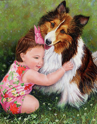 Painting - Child's Love by Kelly Pedersen