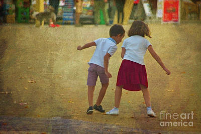 Photograph - Childs Play by Mary Machare