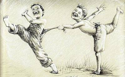 Joyful Drawing - Childsplay by Amii Weller