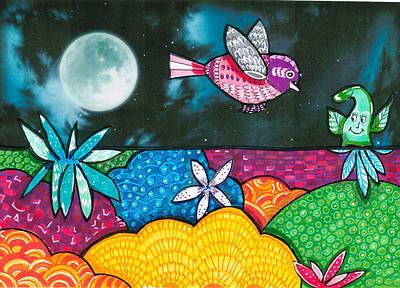 Childstuff Art Print by Suzy Ripley