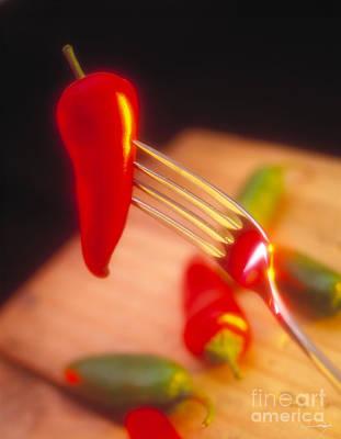 Chile Pepper Art Print by Vance Fox