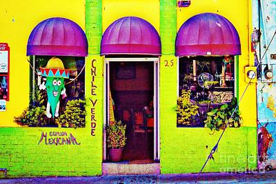 Photograph - Chile Verde - Restaurant In Ajijic, Mexico by Tatiana Travelways