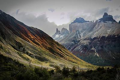 Photograph - Chilean Valley by Ryan Weddle